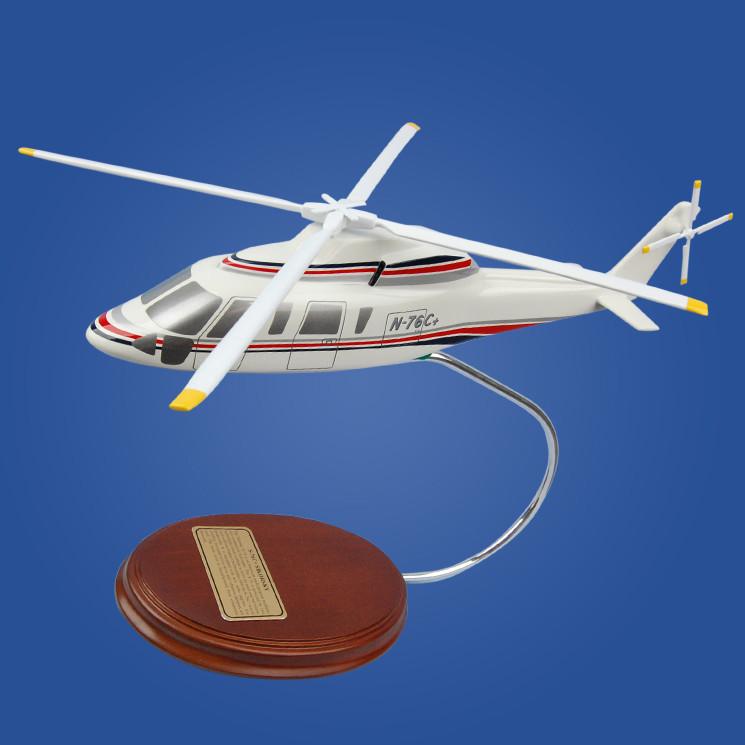Sikorsky Shares S-76C+ 1/52 Desktop Model Helicopter