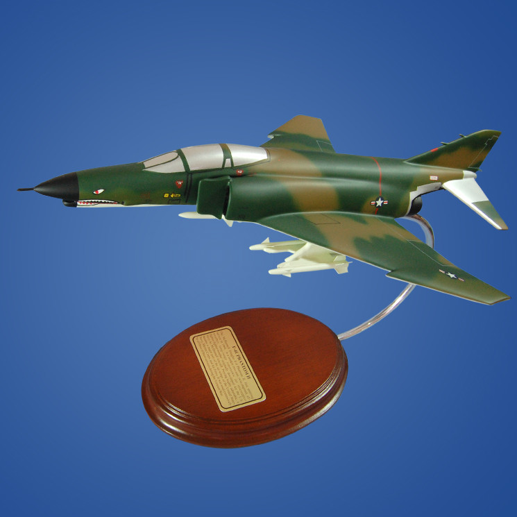 F-4E Phantom II Desktop Model Airplane