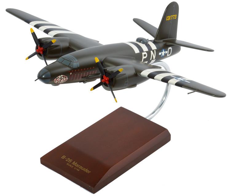"""B-26B/C Marauder """"Flak Bait"""" Model Airplane"""