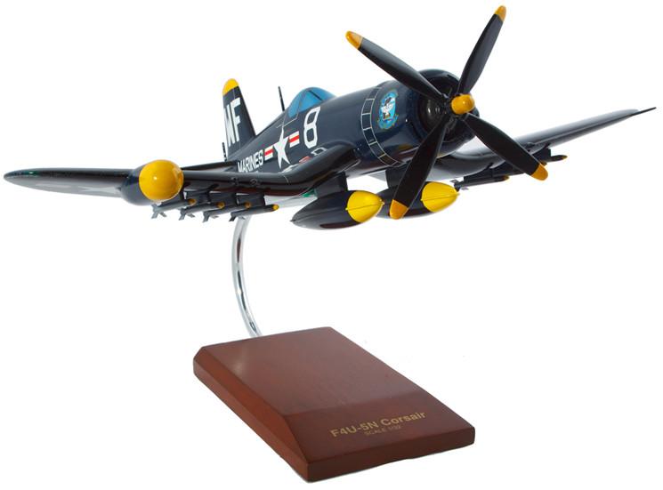 F4U-5NL Nite Corsair Model Airplane