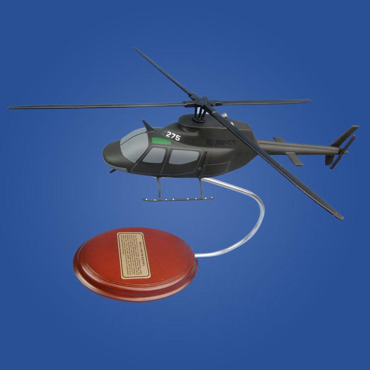 Bell OH-58 Kiowa 1/35 Desktop Model Helicopter