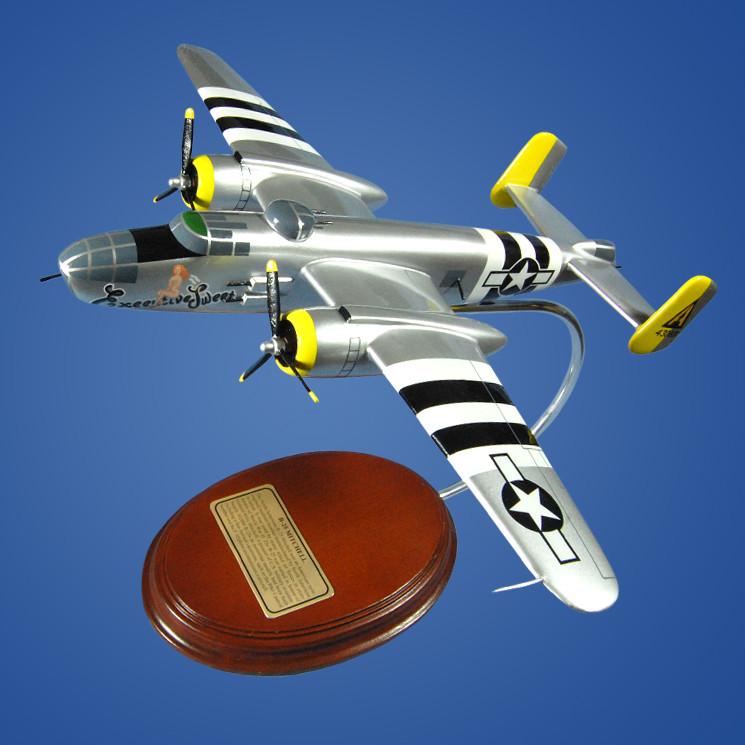 North American B-25 Mitchell (Executive Sweet) 1/67 Desktop Model Aircraft