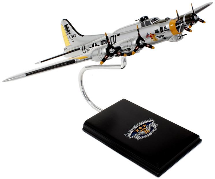 B-17G Liberty Bell Wood Model Aircraft