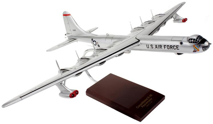 B-36J Peacemaker 1/100 Wood Model Aircraft