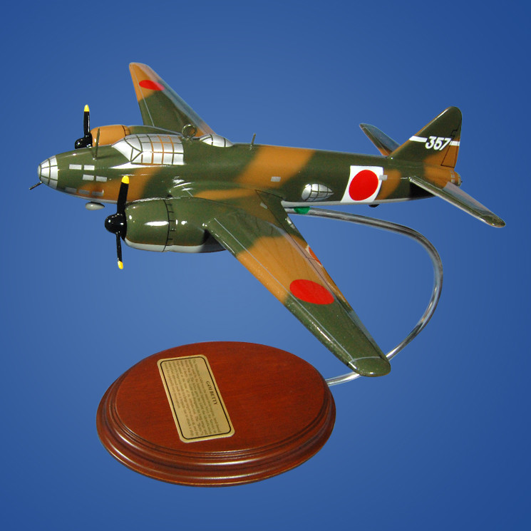 Mitsubishi G4M (Betty) 1/81 Desktop Model Aircraft
