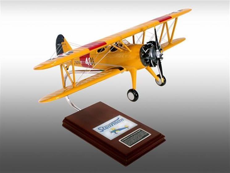 N2S-2/3/4 Yellow Peril 1/22 Model Aircraft
