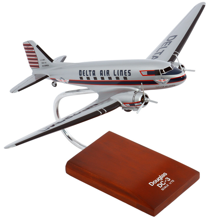 DC-3 Delta Model Airplane