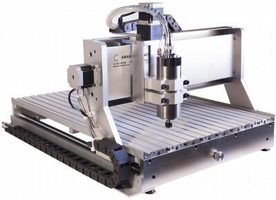 4-х осный фрезерный станок с ЧПУ AMAN 4060/Z13 4А 800W