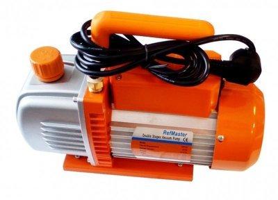 Вакуумный насос двухступенчатый поршневой RefMaster 4C (240 л/м)