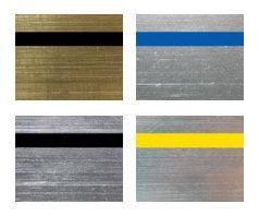 Металлизированные двухслойные пластики для лазерной гравировки