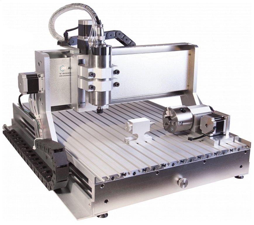 3D фрезерный станок с ЧПУ AMAN 3040/Z13