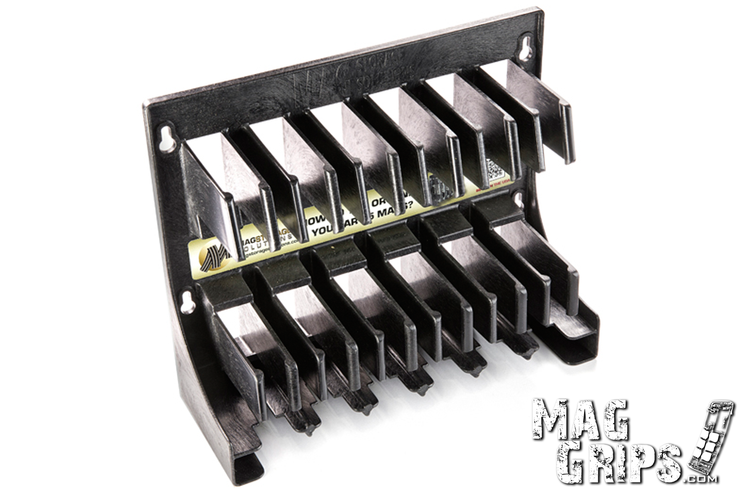Mag Storage Solutions AR 5.56 .223 Magazine Rack With Magazines