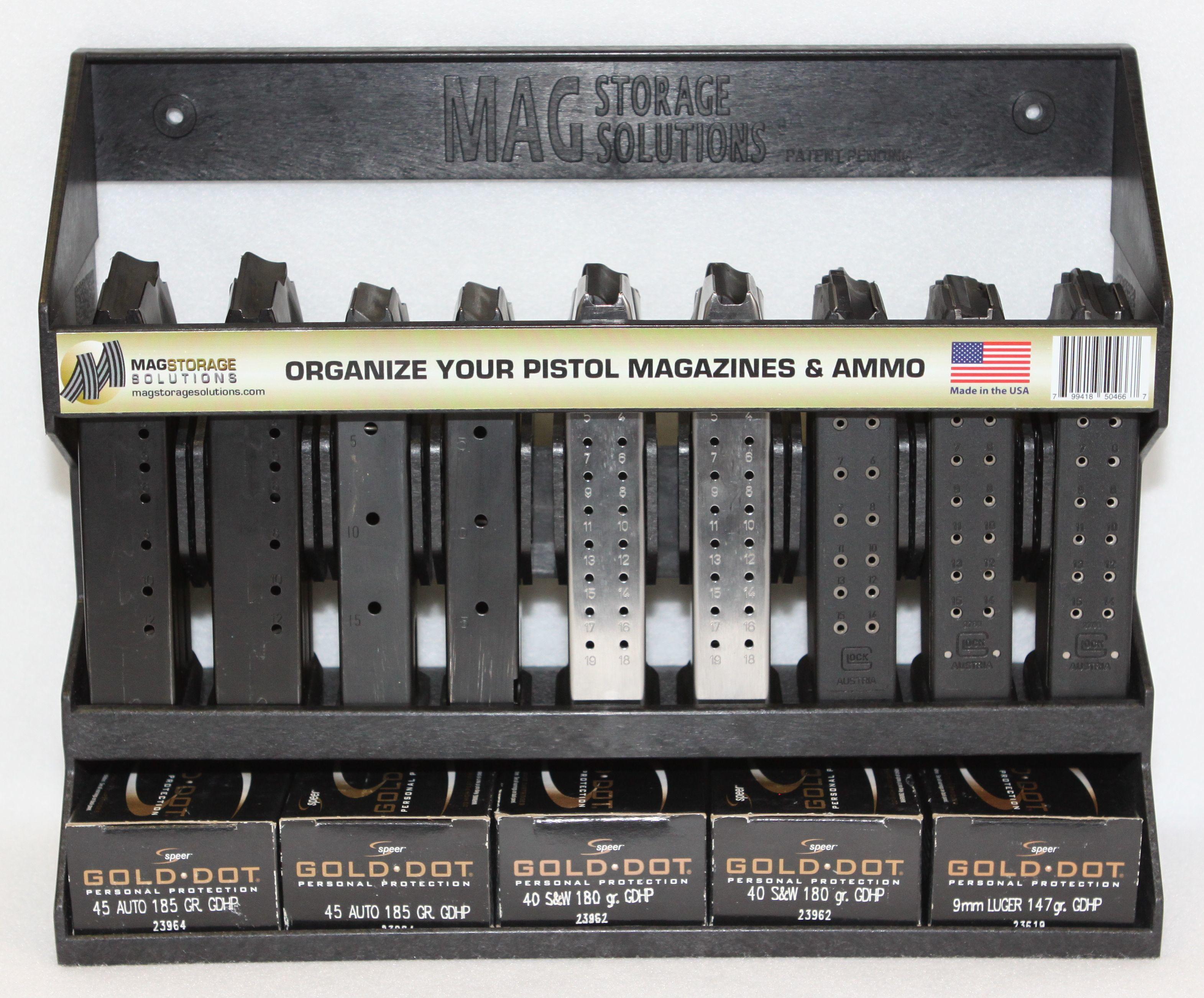 Mag Storage Solutions Pistol Mag Holder