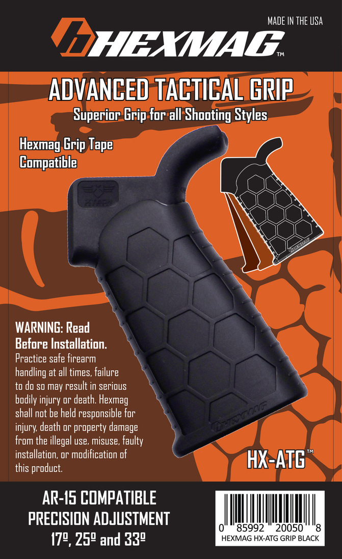 Hexmag The Advanced Tactical Grip HX-ATG-BLK