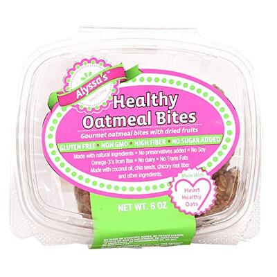 Alyssas Healthy Oatmeal Bites LOCAL