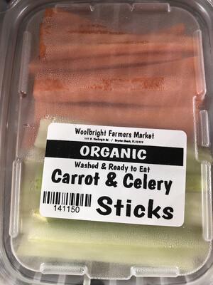 Carrot/Celery Sticks ORGANIC