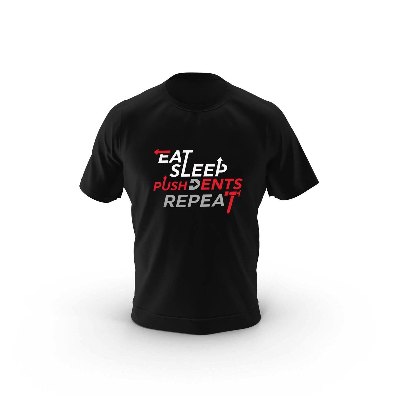 Eat Sleep Push Dents T-Shirt