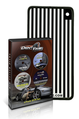 Dent Time 4 Pack DVD Hard Copy Set w/ Line Board