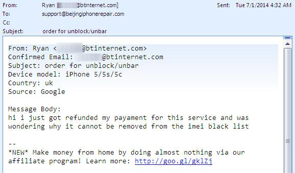 iPhone, iPad, Android, HTC, Samsung IMEI Unblock/Unbar from UK Network  Blacklist PROMO