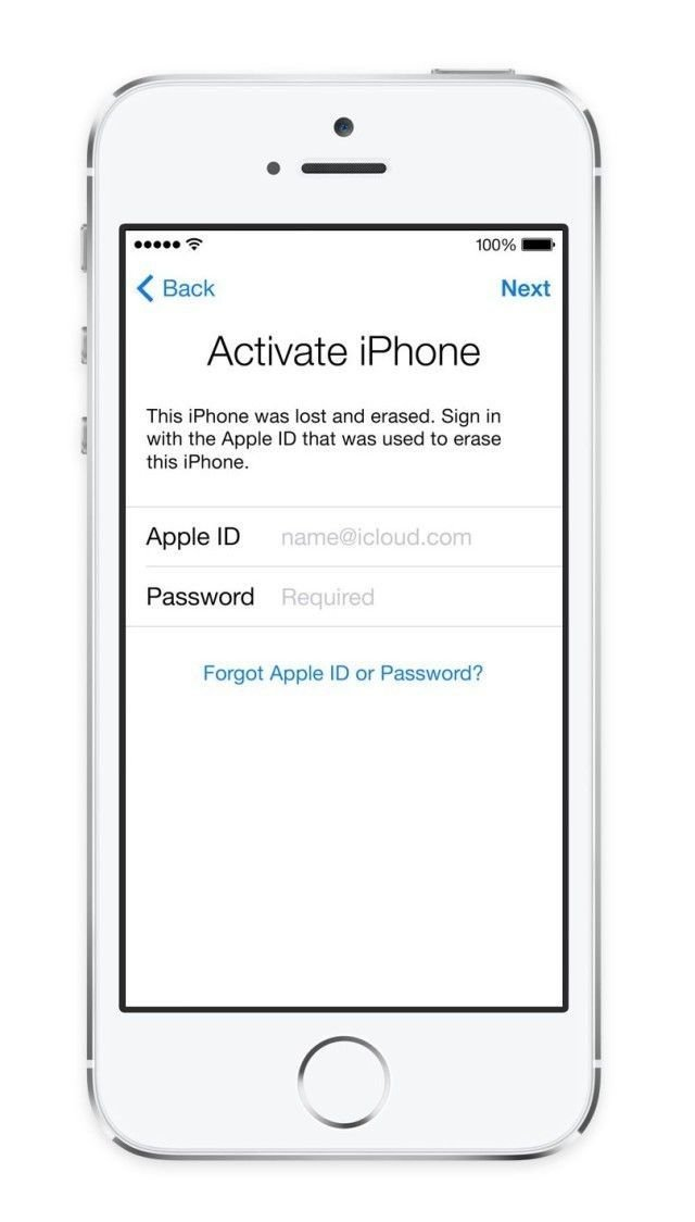 iOS 12/11/10/9/8/7 Activation iCloud ID Email Finder Service for