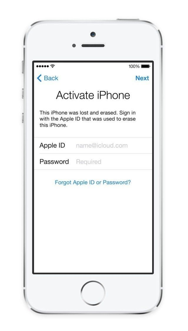 iOS 12/11/10/9/8/7 Activation iCloud ID Email Finder Service for  iPhone/iPad (US Carriers Only)