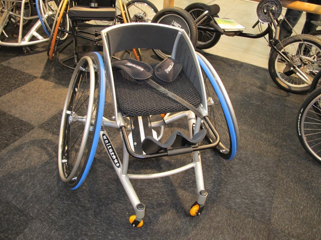 "Ventisit ""Drysit"" on sports wheelchair"