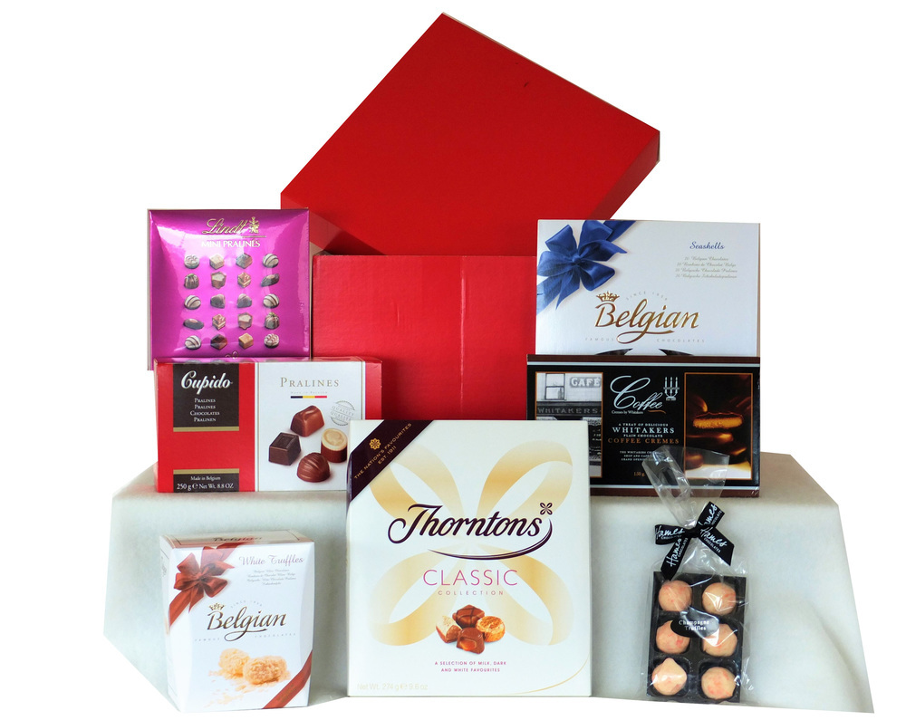 Chocolate Selection in a Gift Box