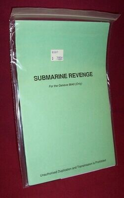 Submarine Revenge