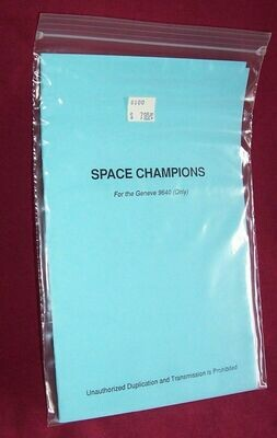 Space Champions