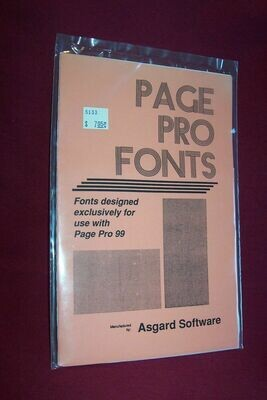 Page Pro Fonts 3
