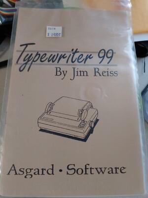 Typewriter 99