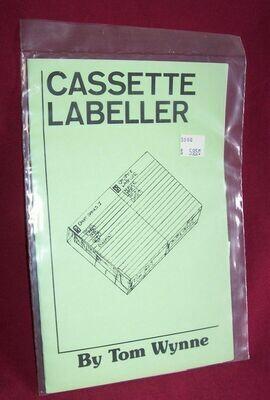 Cassette Labeller