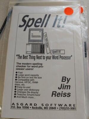 Spell It! DSDD version
