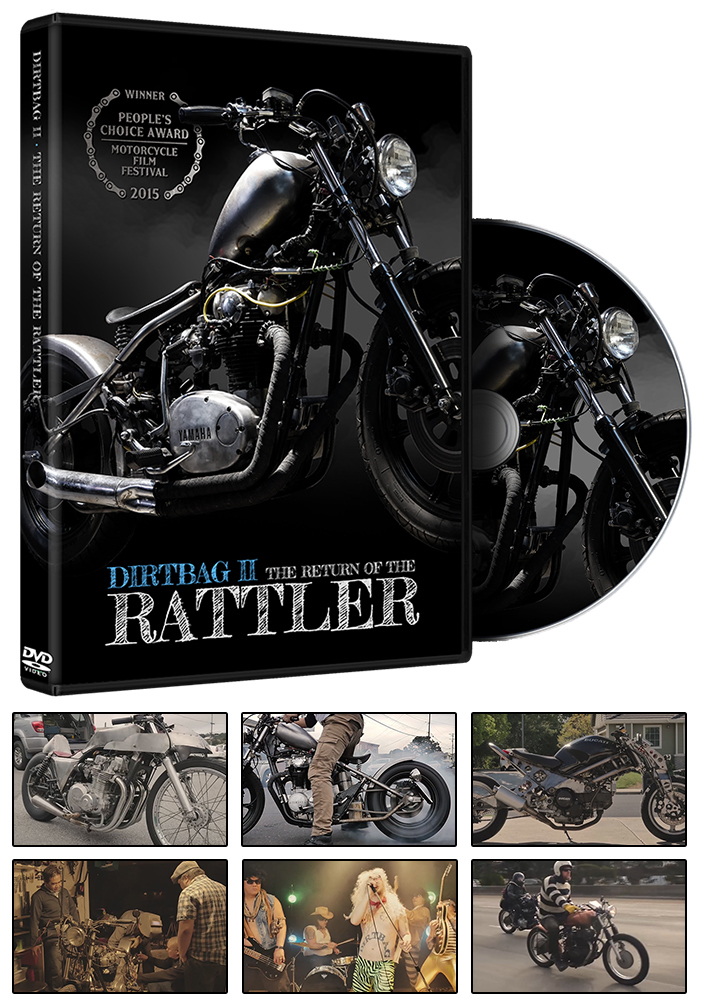Dirtbag 2: The Return of the Rattler (Documentary) DVD