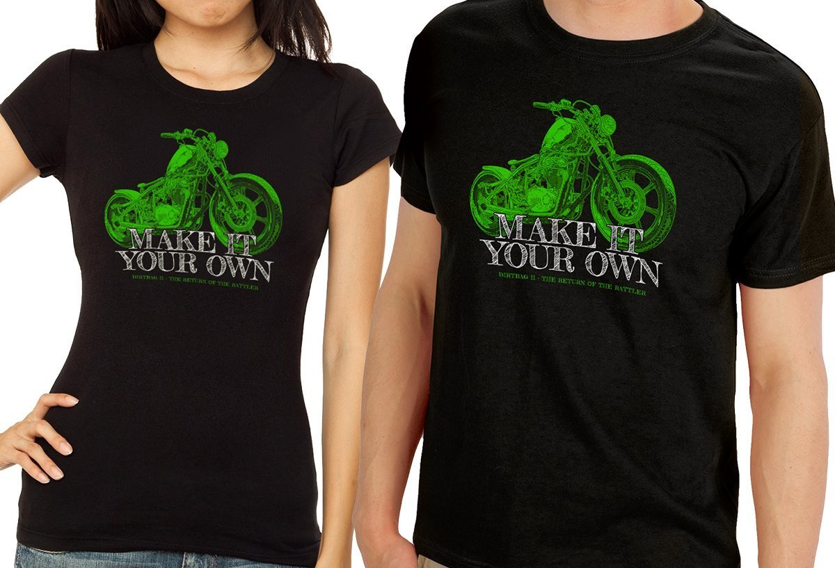 "T-shirt ""Make It Your Own"" w/ FREE Dirtbag2 DVD"