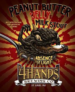 4 Hands Absence of Light Peanut Butter 22 oz