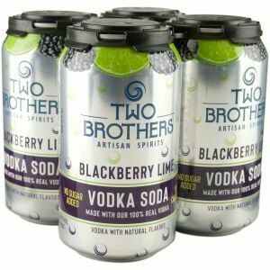 Two Brothers Vodka Soda 4pk cans