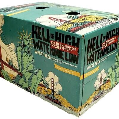 21st Amendment Hell or High Watermelon 6 pk cans