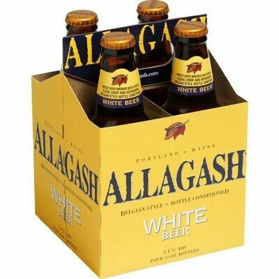 Allagash White 4pk BOTTLES!