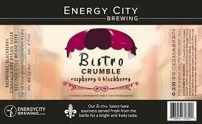 Energy City Bistro Smoothie Raspberry & Blueberry 4pk