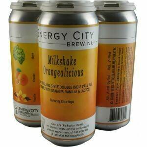 Energy City Milkshake Orangelicious 4pk cans