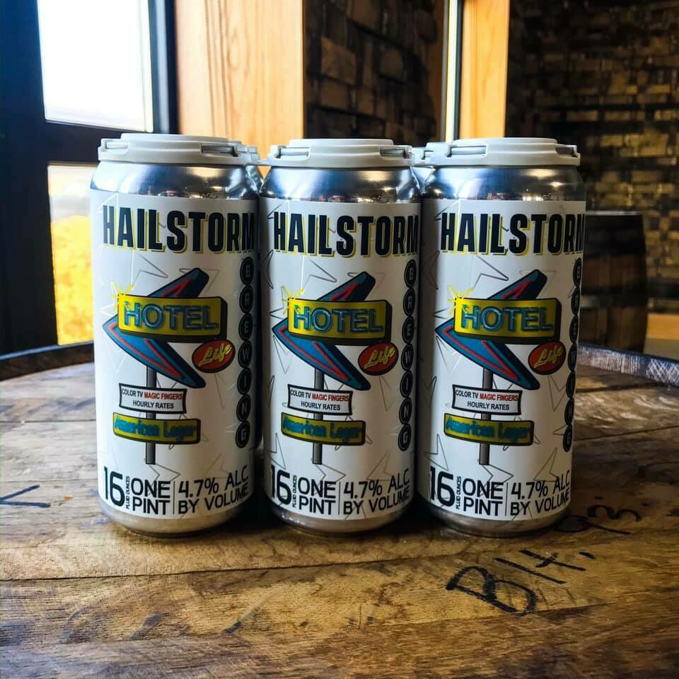 Hailstorm Brewing Hotel Life 6pk cans
