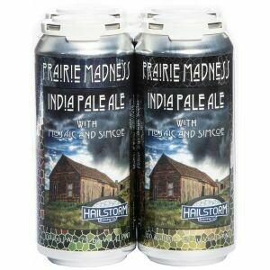 Hailstorm Prairie Madness 4pk cans