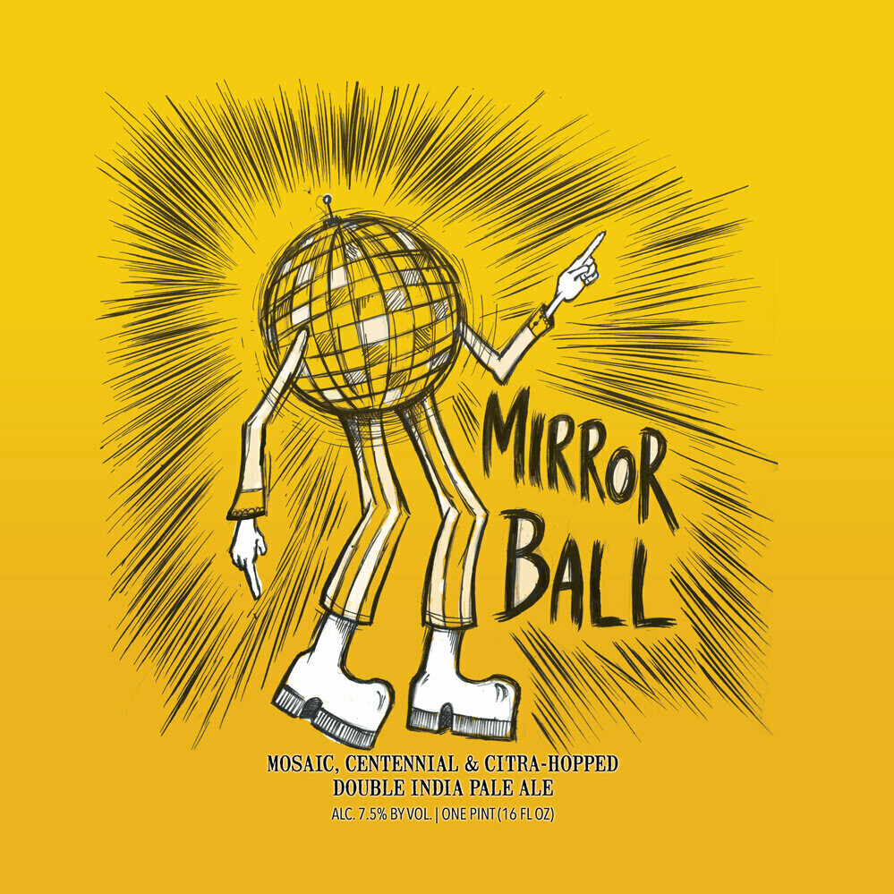 Hop Butcher Mirrorball 4pk cans