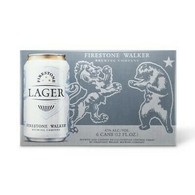 Firestone Walker Lager 6pk cans