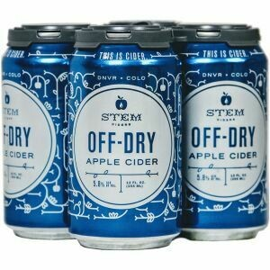 Stem Off Dry 4pk cans