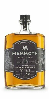 Mammoth Borrowed time 10yr Bourbon 750ml