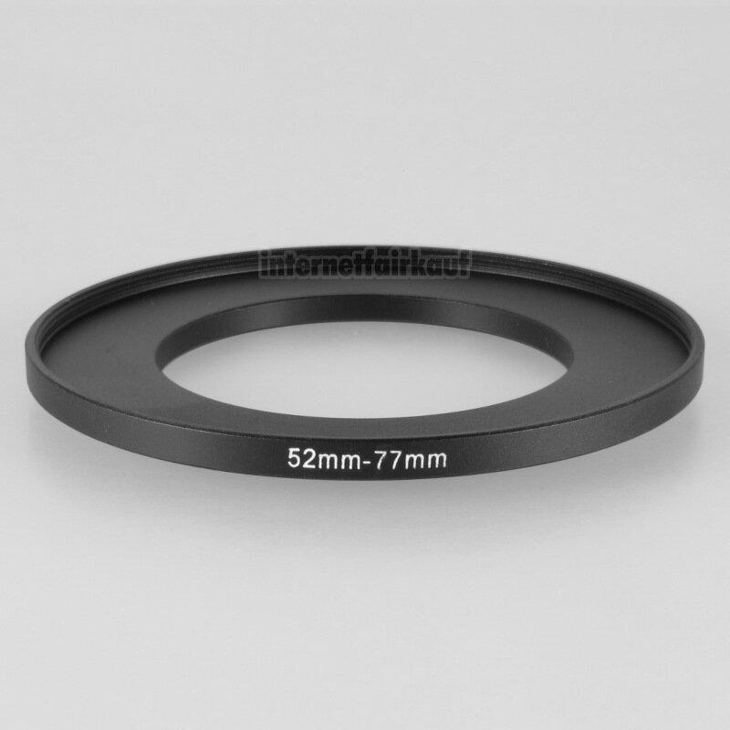 52-77mm Adapterring Filteradapter
