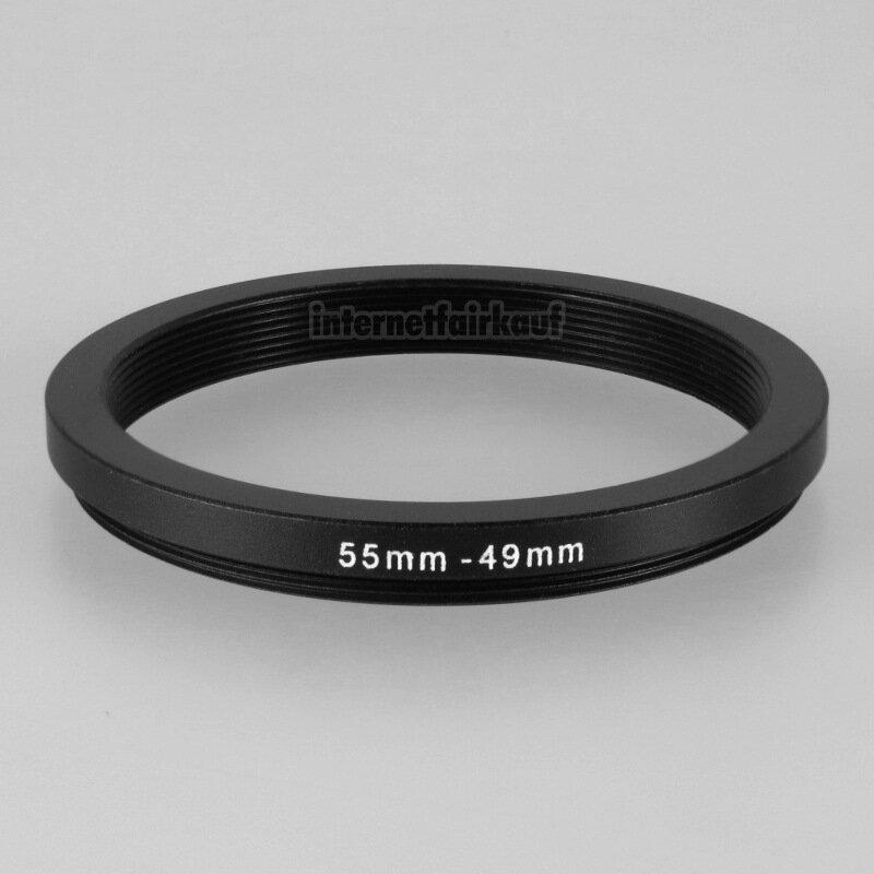 55-49mm Adapterring Filteradapter