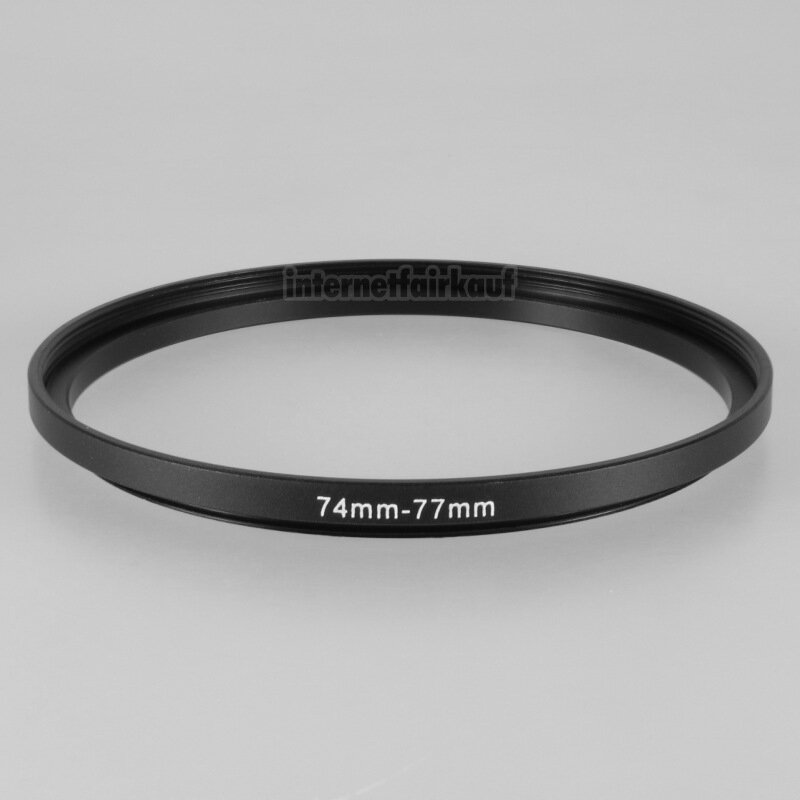 74-77mm Adapterring Filteradapter